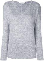 Rag & Bone Jean - melange v neck jumper - women - Polyester/Spandex/Elastane/Rayon - XS