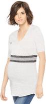 Motherhood Bold Stripe Maternity Tunic
