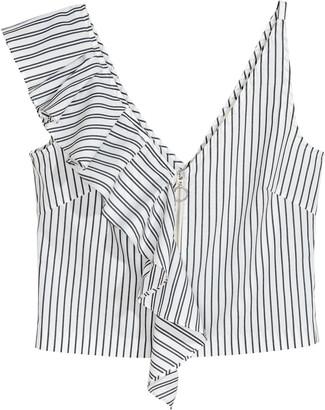 H&M Short flounced top