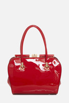 Fashion to Figure Evelyn Patent Satchel