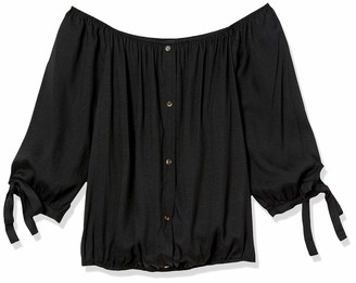 Forever 21 Women's Plus Size Off-The-Shoulder Top