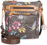 Giani Bernini Floral Signature Crossbody, Created for Macy's