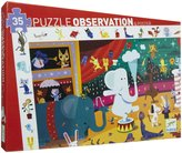 Djeco Circus Observation Puzzle