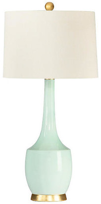 Barclay Butera For Bradburn Home Harlow Table Lamp - Aqua/Gold