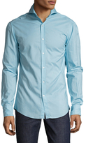 Michael Bastian Cotton Spread Collar Sportshirt