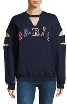 JET Vintage Patch Paris Sweatshirt
