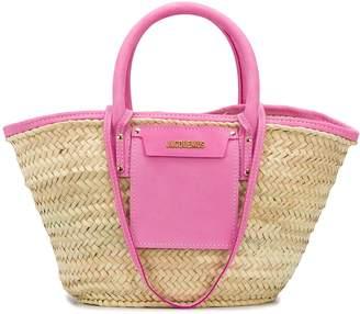 Jacquemus Soleil hand-braided beach bag