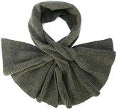 Paule Ka frill trim cashmere scarf