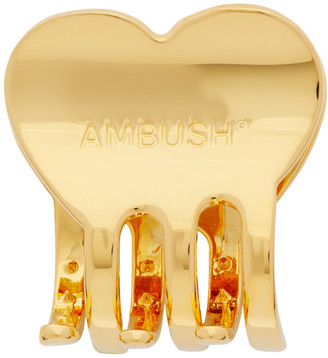 Ambush Gold Heart Hair Clip