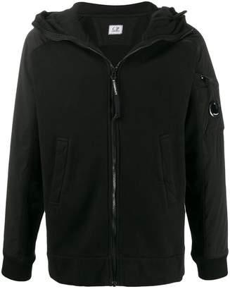 C.P. Company brushed fleece zipped hoodie