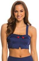 Girl Howdy Girlhowdy Helen Button Crop Bikini Top 8137846
