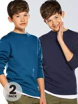 Very Boys Crew Neck Sweat Tops (2 Pack)