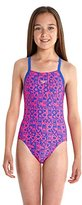 Speedo Swimsuit Enfant G Pool Text Rose