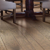 Hudson Shaw Floors Augusta Random Width Engineered Hickory Hardwood Flooring in Flora