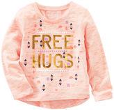 Osh Kosh Neon Free Hugs Tee