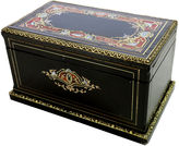 One Kings Lane Vintage Antique Ebony w/ Inlay Wooden Box