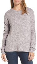 Caslon Women's Ruched Sleeve Pullover