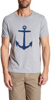 Save Khaki Anchor Print Tee