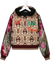 Dolce & Gabbana floral baroque hooded jacket