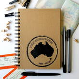 The Alphabet Gift Shop Personalised Stamp Travel Journal