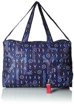 Oilily Enjoy Shopper Xlhz, Women's Satchel, Blau (Dark Blue), 20x31x46 cm (B x H T)