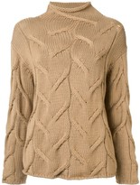 Chanel Pre Owned textured woven jumper