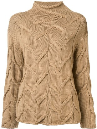 Chanel Pre-Owned textured woven jumper