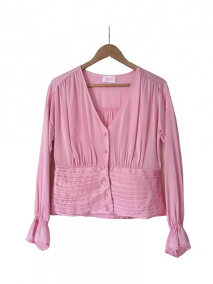 Non Signã© / Unsigned Pink Polyester Tops