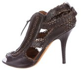 Givenchy Woven Leather Pumps