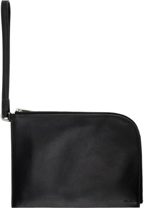Rick Owens Black Travel Pouch