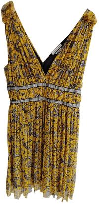 Etoile Isabel Marant Yellow Silk Dresses
