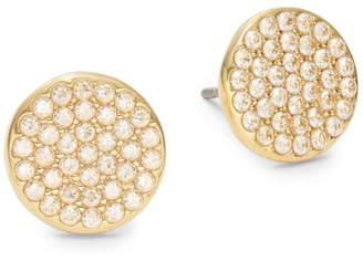 Kate Spade Crystal Pave Disc Stud Earrings