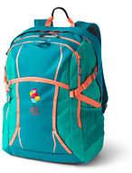 Lands' End ClassMate TechPack Large Backpack-Washed Black Tie Dye
