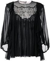 Chloé - crocheted blouse