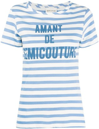Semi-Couture striped T-shirt