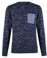 Burton Burton Blend Navy Slim Fit Pullover*
