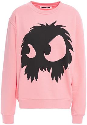 McQ Printed Cotton-fleece Sweatshirt