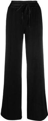 Andrea Ya'aqov Wide-Leg Cashmere-Blend Trousers