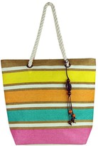 Condura Stripe Rope Handle Tote