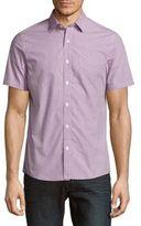 Regular-Fit Gingham Check Sport Shirt