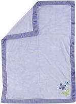 NoJo Crown Craft Beautiful Butterfly Fleece Blanket