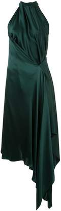 Isabella Collection draped midi dress