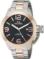 TW Steel Men's CB132 Analog Display Quartz Two Tone Watch