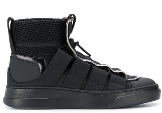 Bruno Bordese mesh high tops