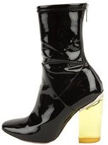 Christian Dior 2015 Lucite Ankle Boots