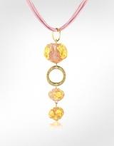Antica Murrina Pepita - Murano Glass Stone Drop Necklace