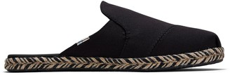 Toms Black Canvas Women's Nova Slip-On Espadrilles