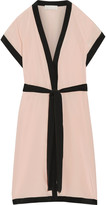 Fleur Du Mal Silk-organza robe