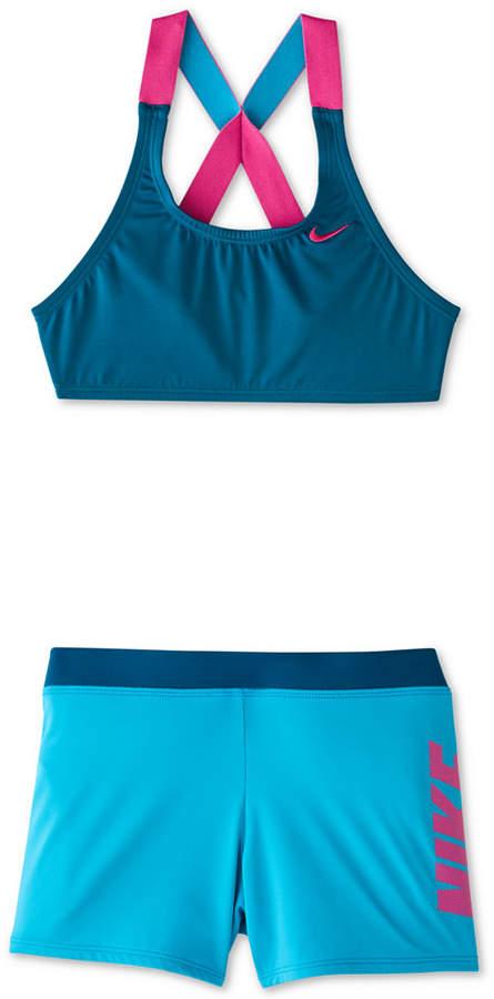 9355d5fd8b Nike Green Girls' Swimwear - ShopStyle