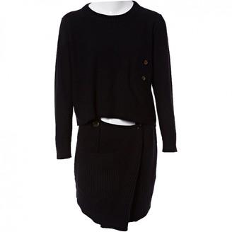 Sonia Rykiel Black Wool Dresses